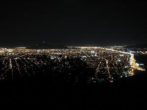 Santiago de Chile bei Nacht (Foto: Stefan Vehoff)