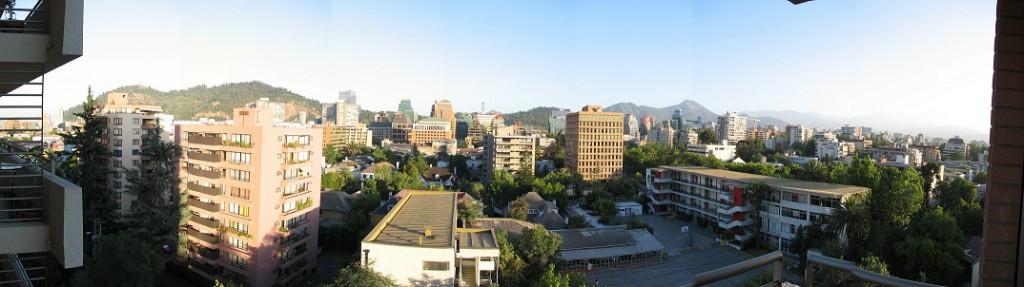 Das Stadtviertel Providencia in Santiago de Chile (Foto: Stefan Vehoff)