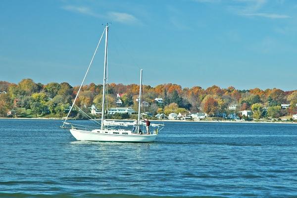 MD - Chesapeake Bay - Autumn Sail