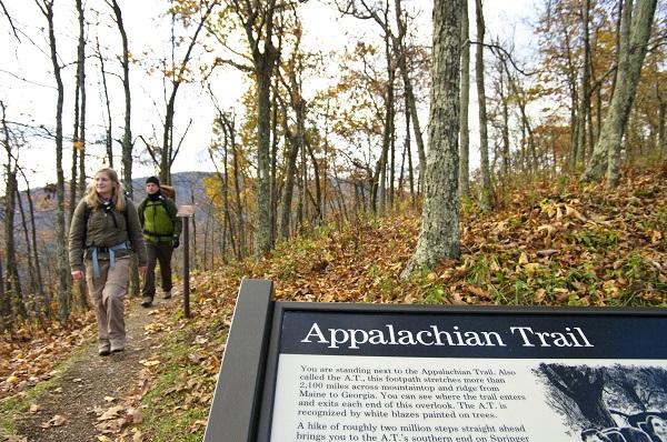 Der Appalachian Trail ist einer der längsten Fernwanderwege der USA (Foto: VTC)