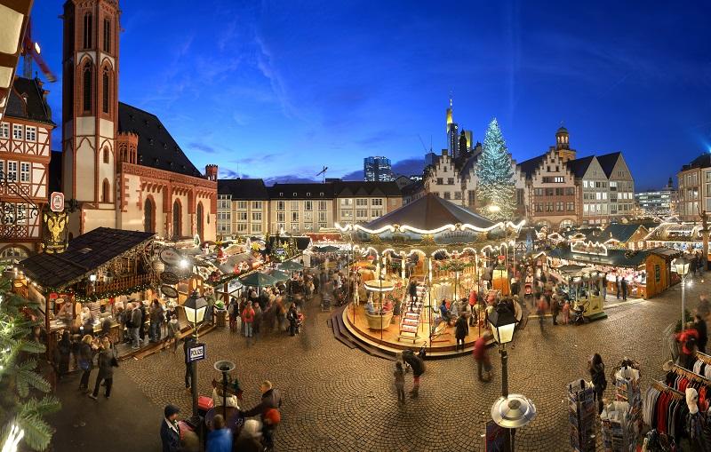 Der Frankfurterweihnachtsmarkt (©Tourismus+Congress GmbH Frankfurt am Main)