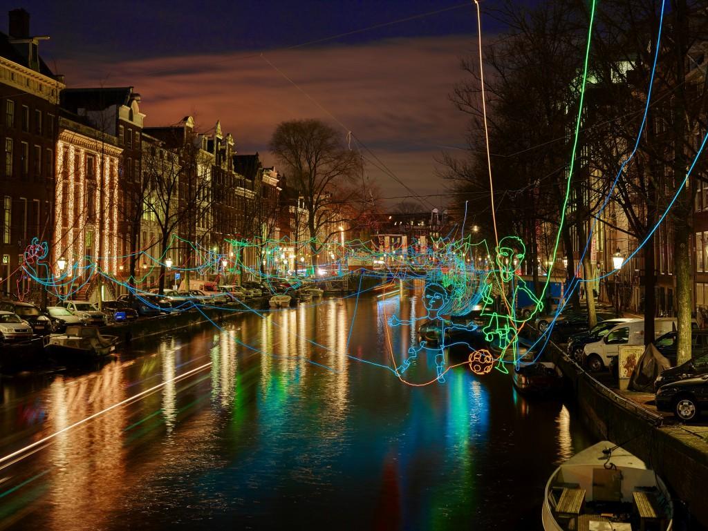 Lichterfest in Amsterdam (Foto: