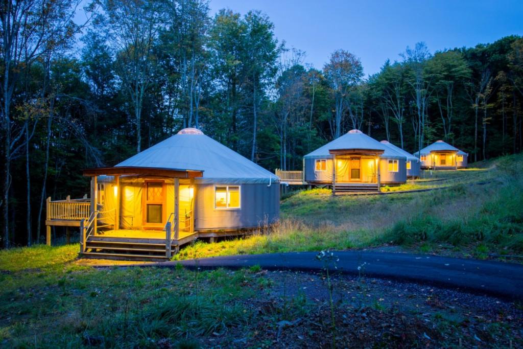 Jurten der Savage River Lodge (Fotocredit: Jennifer Dobson)