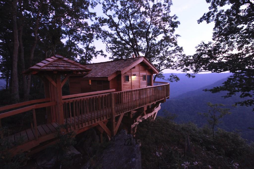 Das Baumhaus im Primland Resort mit traumhaftem Ausblick (Fotocredit: Primland Resort)