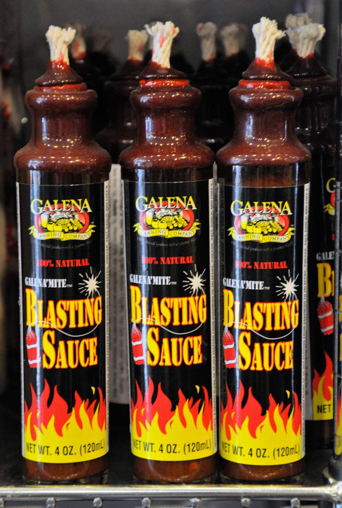 The one and only Galena'mite Blasting Sauce