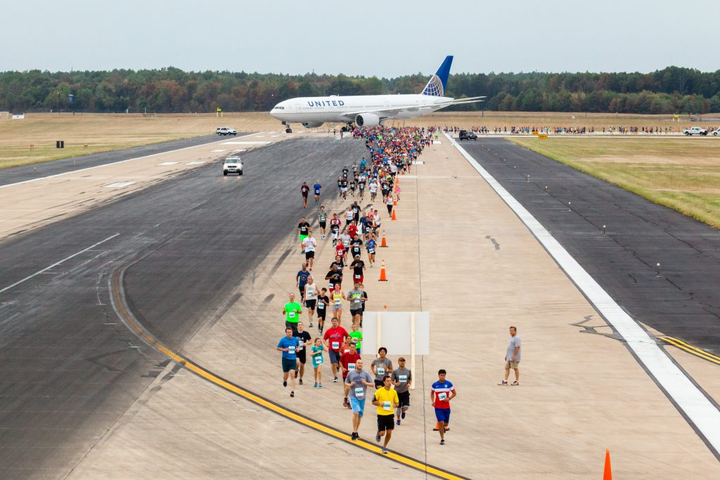 Running the Runway in Washington Dulles