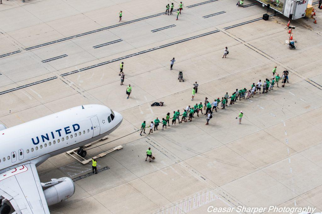 Washington Dulles Plane Pull