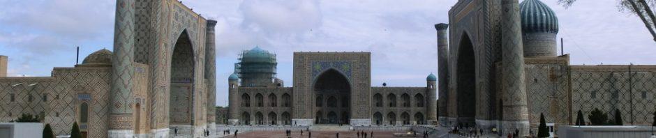 Samarkands berühmter Registan-Platz
