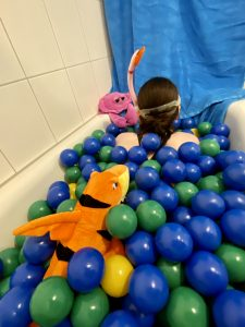 Bällebad-Hochsee-Ausdauerschwimmen
