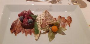 Dessert im Hotel Schwarzer Adler
