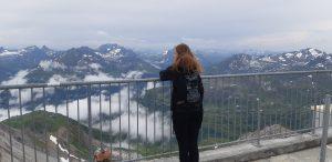 Aussicht auf der Valluga oben